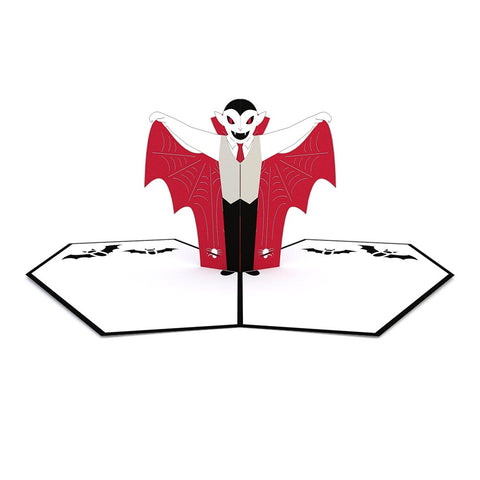 Vampire Pop Up Halloween Card greeting card -  Lovepop