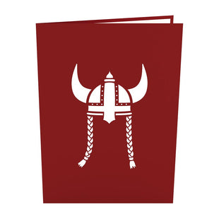 Viking Ship Pop up Card