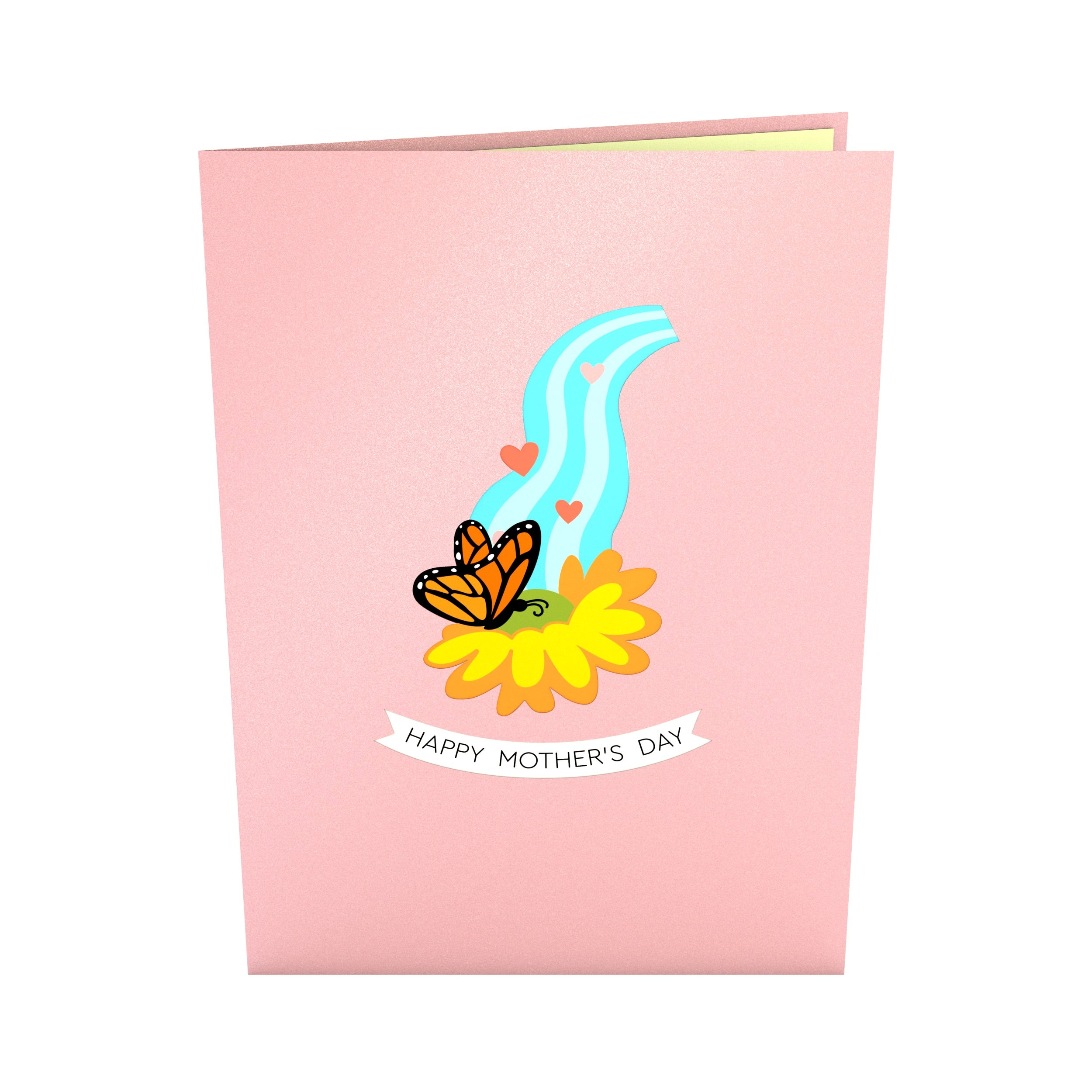 Mother's Day Watering Can Pop Up Card