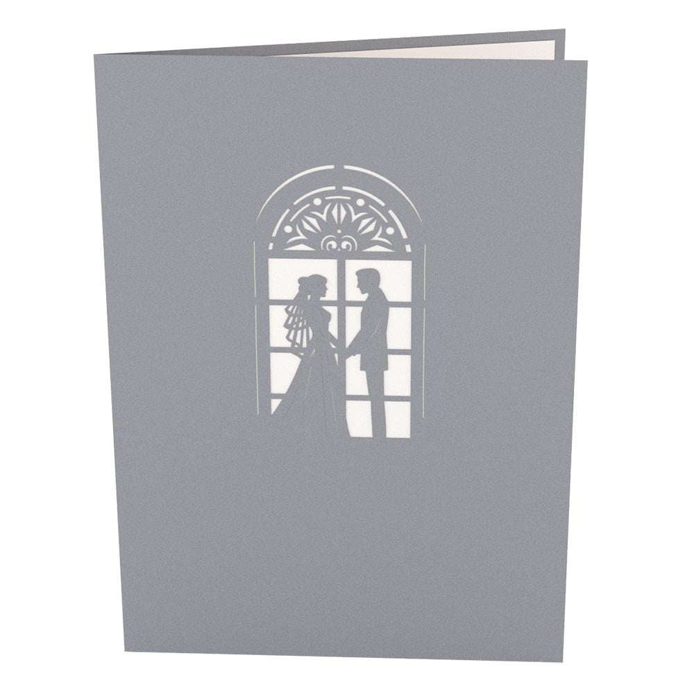Wedding Chapel pop up card