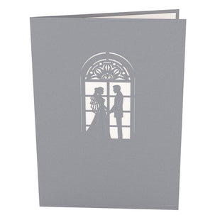 Wedding Chapel Pop Up Wedding Card