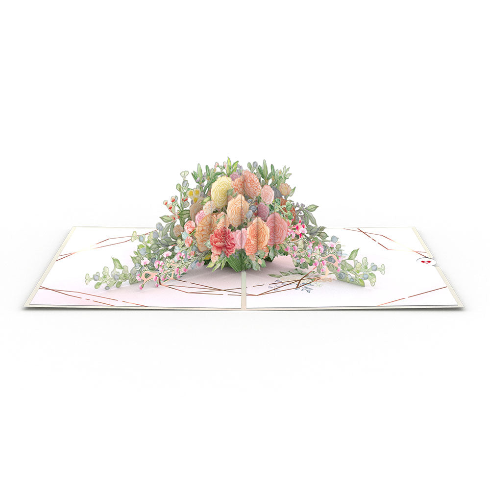 Wedding Florals             pop up card