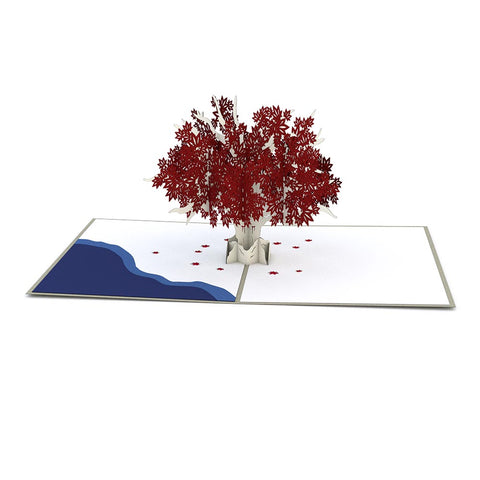 Game of Thrones Weirwood Tree Pop up Card