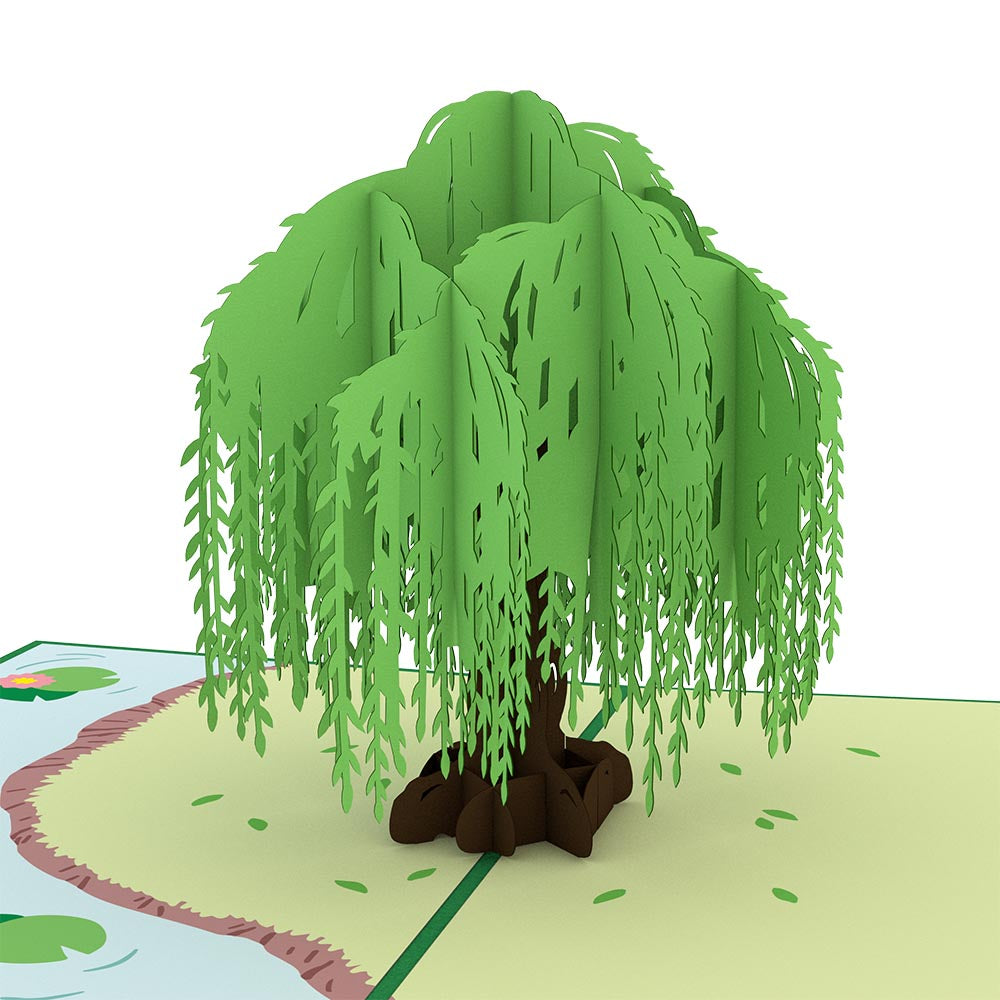 Willow Tree Pop Up Anniversary Card