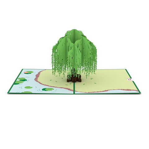 Willow Tree Pop Up Anniversary Card greeting card -  Lovepop