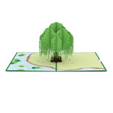 Willow Tree pop up card - thumbnail