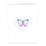 Wings of Love                                 pop up card - thumbnail