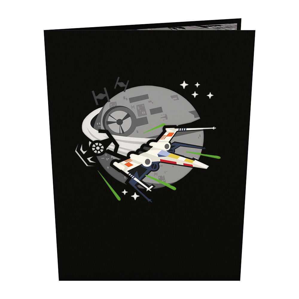 X-wing Starfighter™                                             birthday                            pop up card