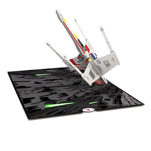 X-Wing Starfighter Pop up Card greeting card -  Lovepop