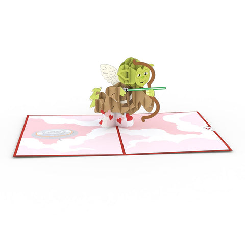 Yoda™ Cupid greeting card -  Lovepop