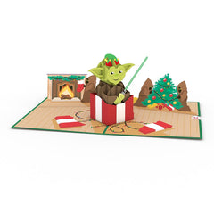 Yoda™ Present greeting card -  Lovepop