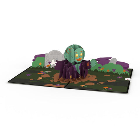 Zombie greeting card -  Lovepop