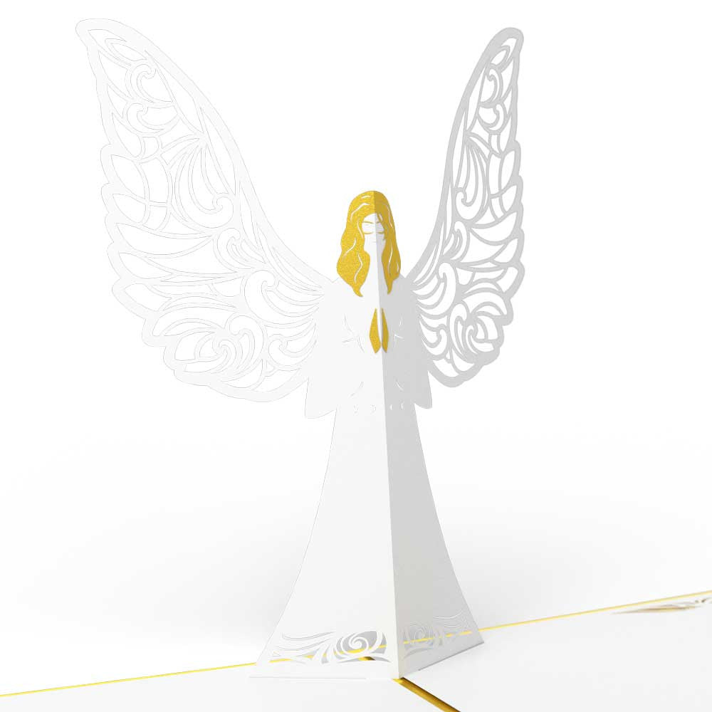 Angel pop up card