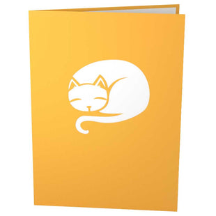 Cat Playhouse Pop Up Birthday Card