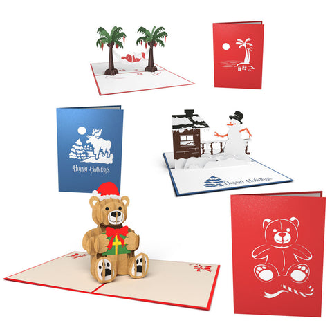 Christmas Character Pack greeting card -  Lovepop