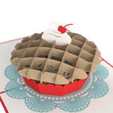 Cherry Pie pop up card - thumbnail