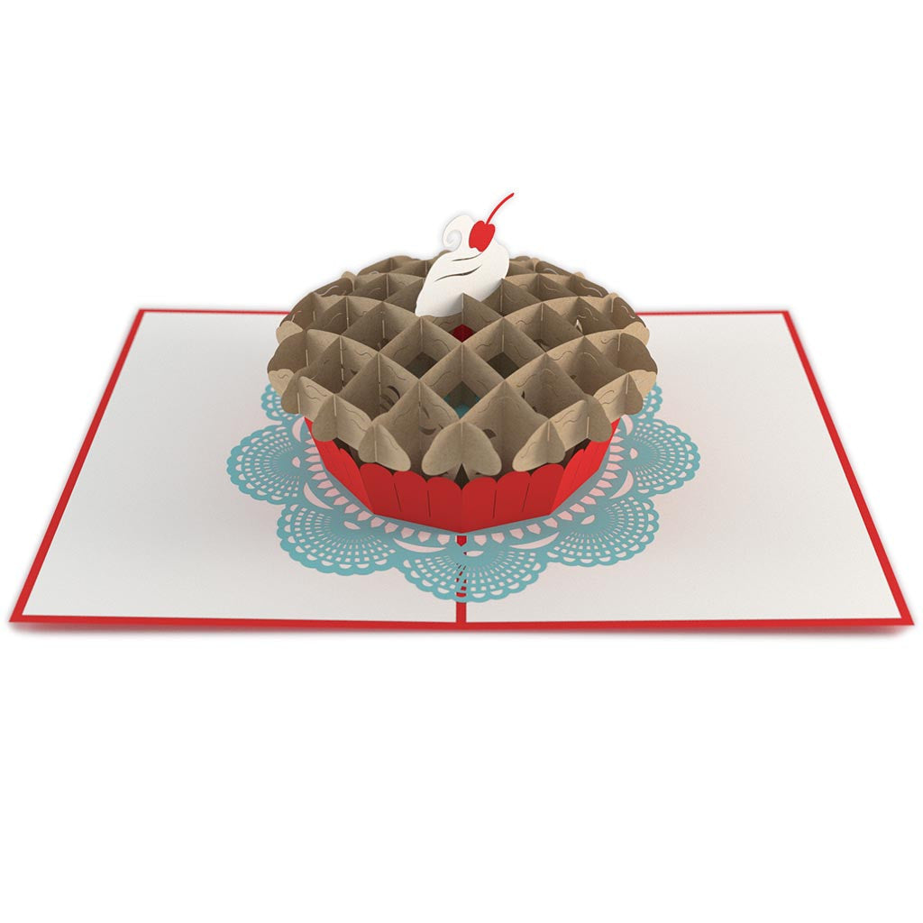 Cherry Pie pop up card