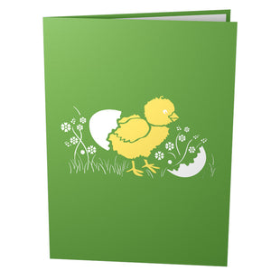 Baby Chicks Pop Up Easter Card