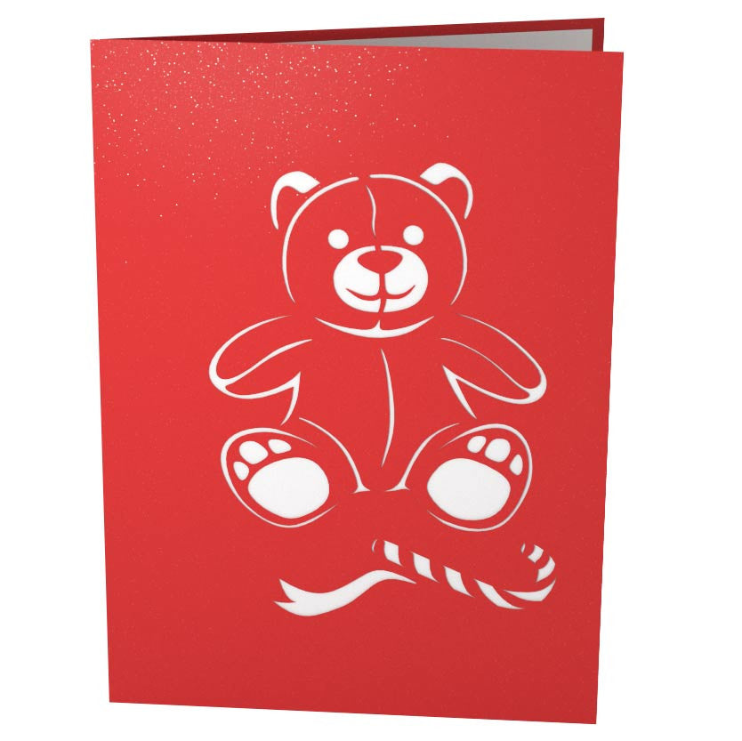 Christmas Bear pop up card