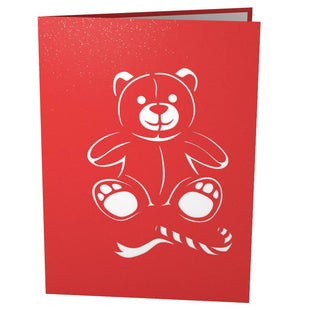 Holiday Bear Pop Up Christmas Card