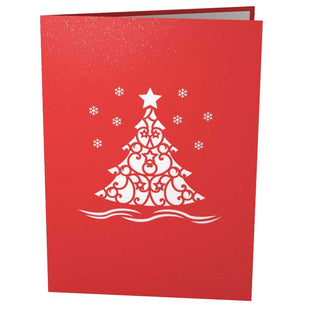 Christmas Tree Pop Up Holiday Card