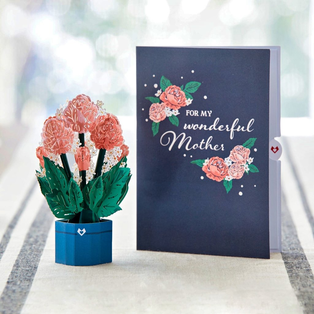 Mother's Day Cards with Mini Bouquets (Assorted 3-Pack)