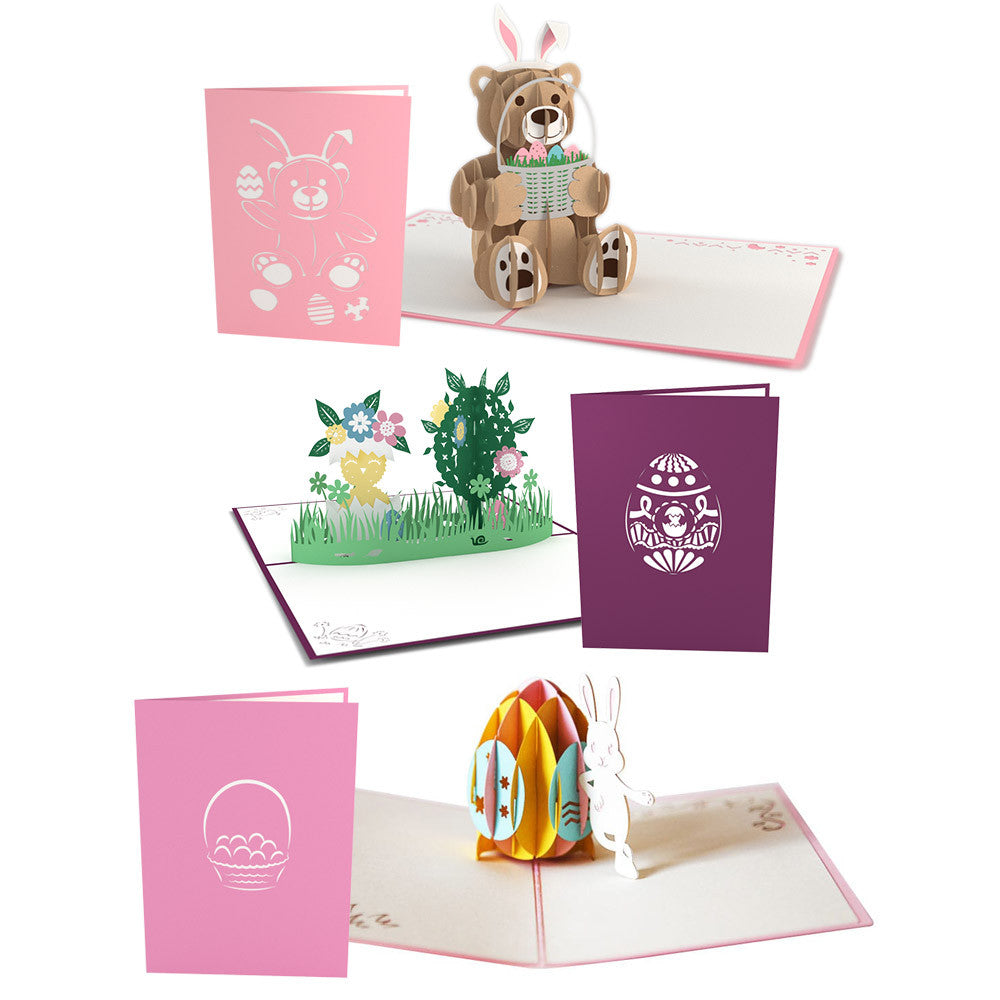 Easter Pack pop up card