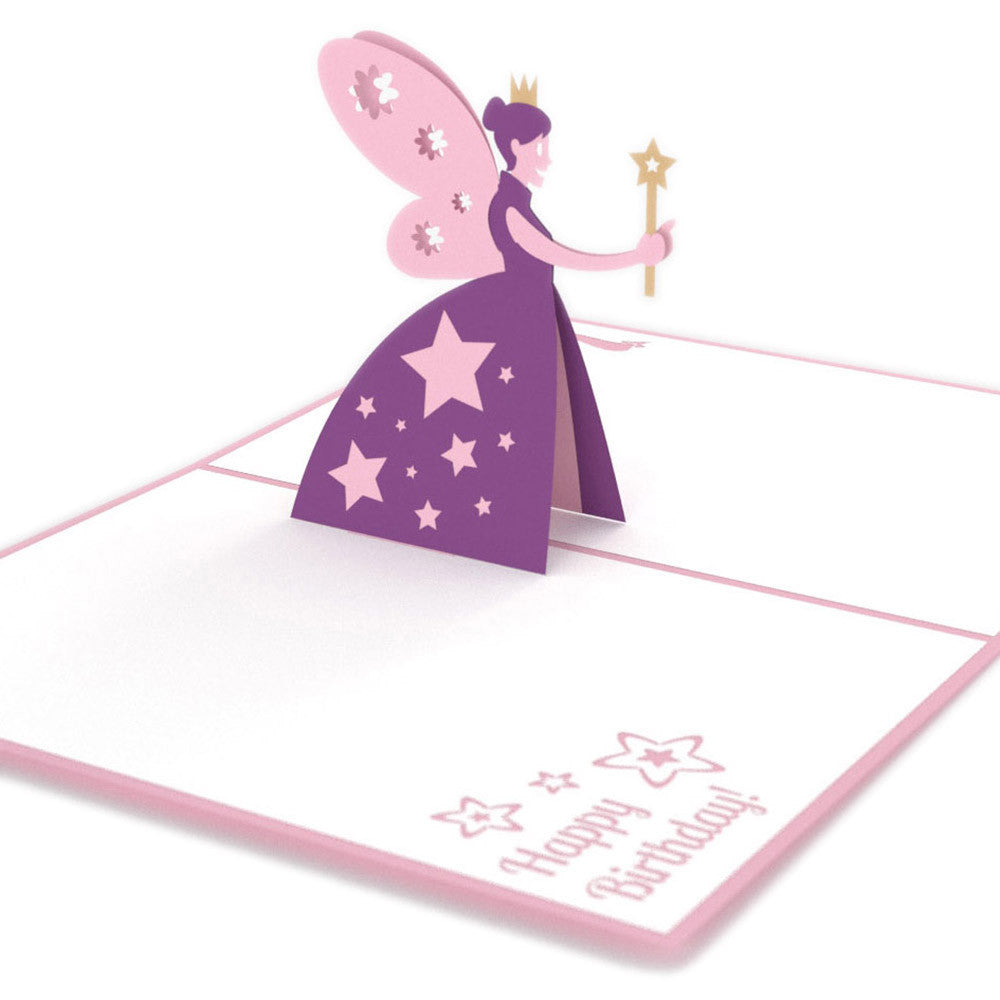 Fairy godmother pop up birthday card lovepop fairy godmother birthday pop up card bookmarktalkfo Gallery