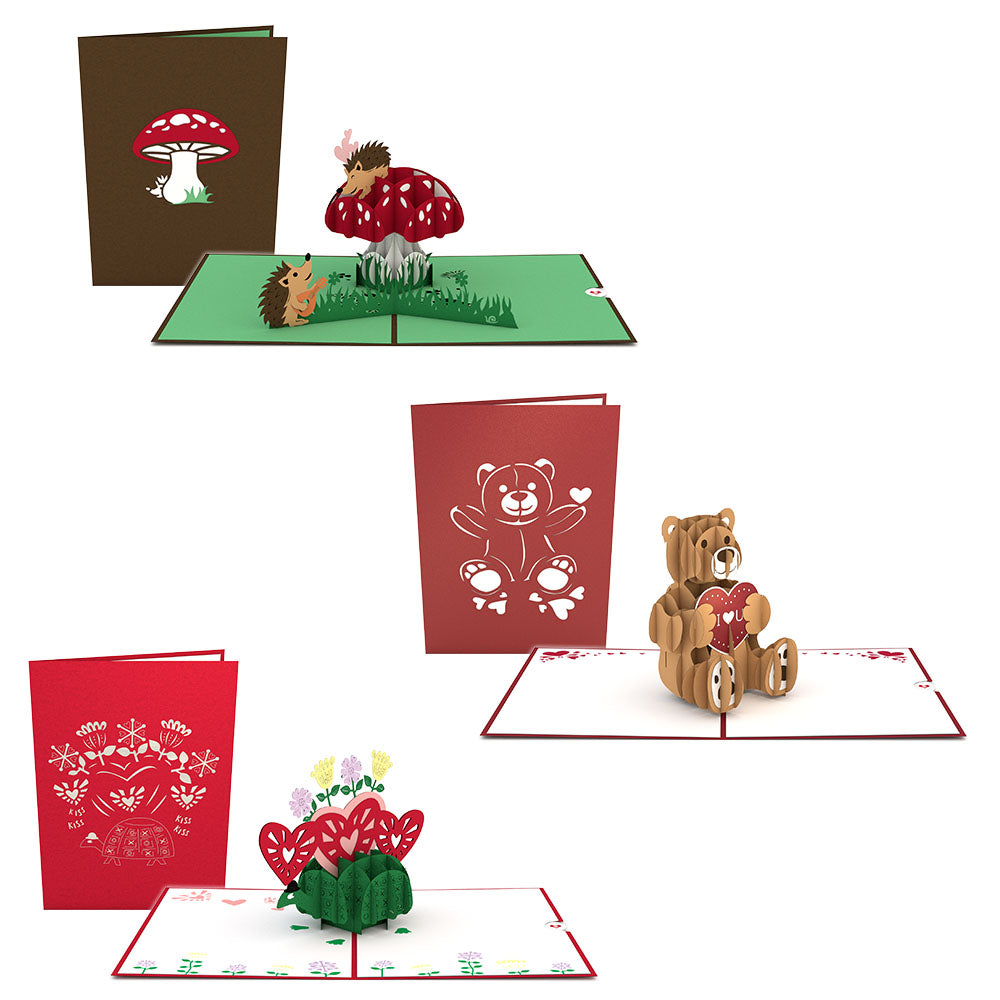 For the Kids Pack pop up card