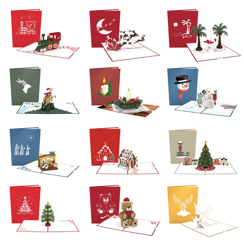 pop up christmas cards lovepop