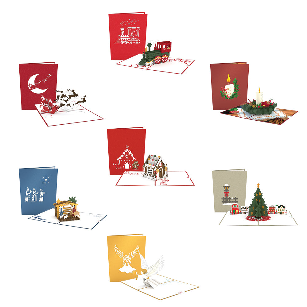 Christmas Favorites 7 Pack pop up card