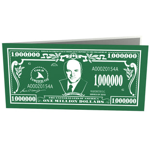 3D Kevin O'Leary Shark Tank Pop Up Card