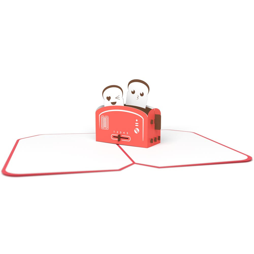 Love Toaster pop up card