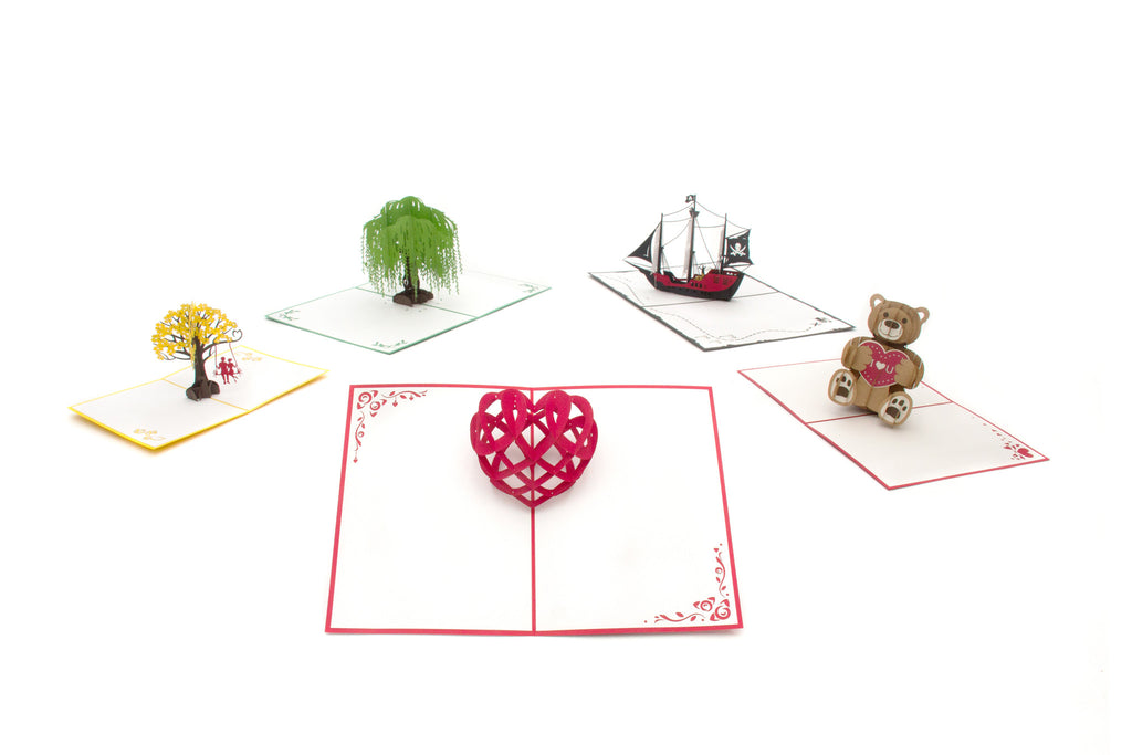 Every Day Collection - 5 pack pop up card