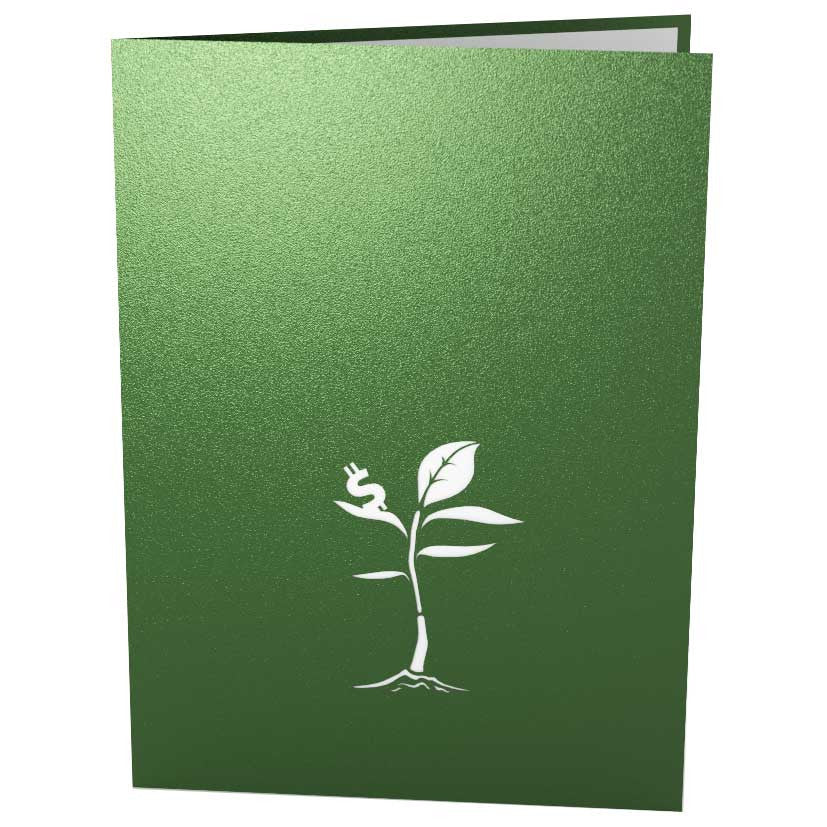 Money Tree Birthday Pop Up Card
