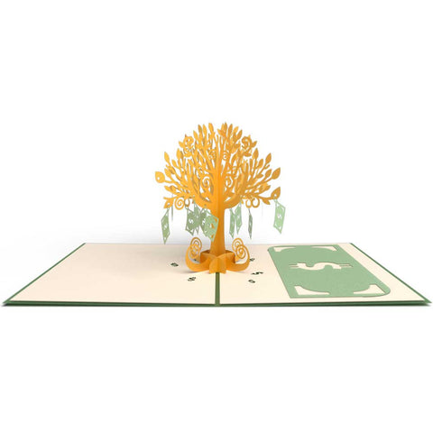 Money Tree Pop Up Birthday Card greeting card -  Lovepop