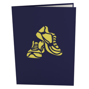 Runner Pop Up Greeting Card