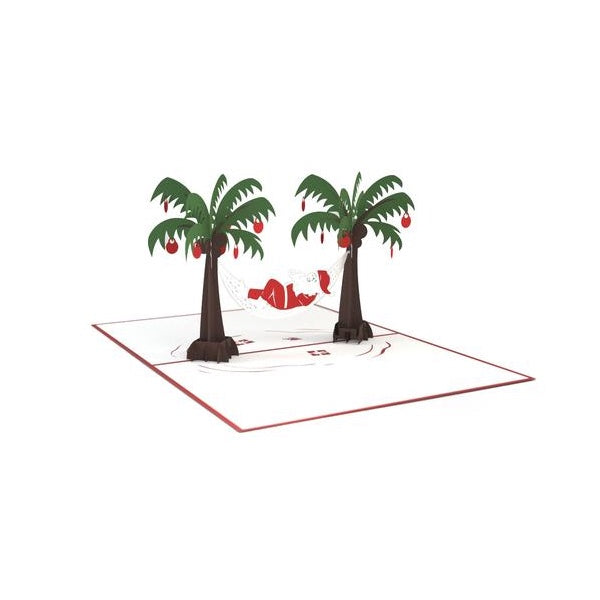 Santa Hammock Classic             pop up card