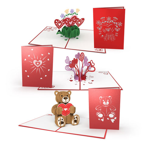 Kids Valentine's Day Pop Up Card Pack greeting card -  Lovepop