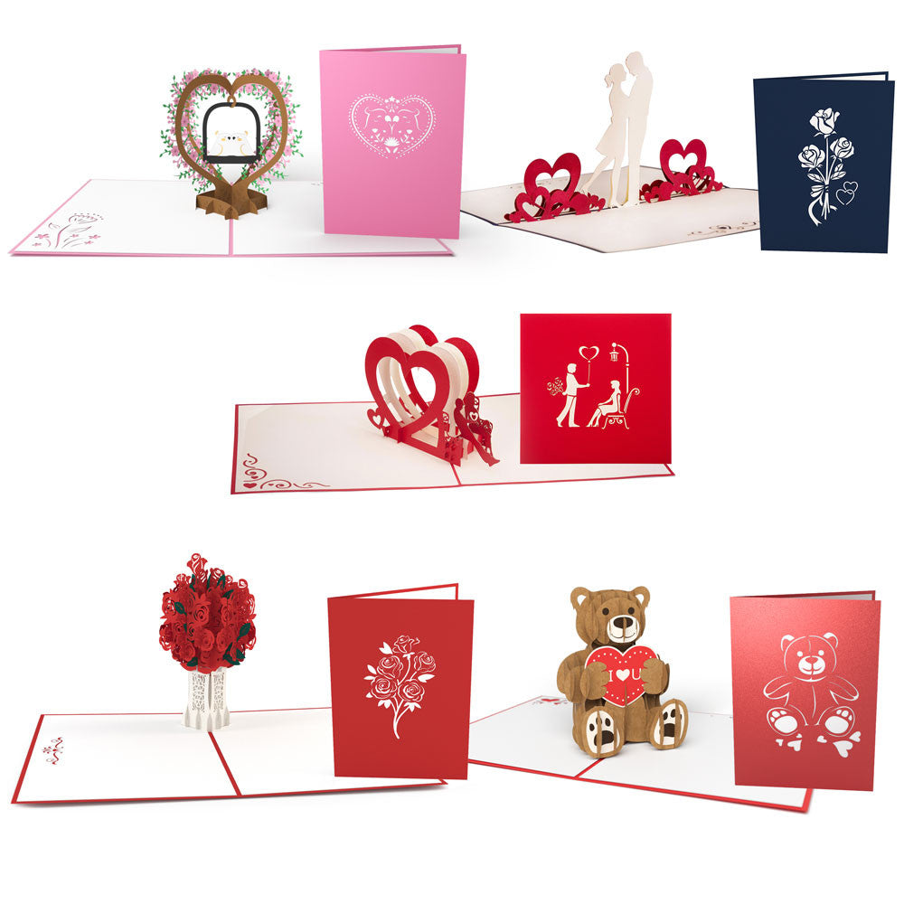 Cupid 5 Pack pop up card