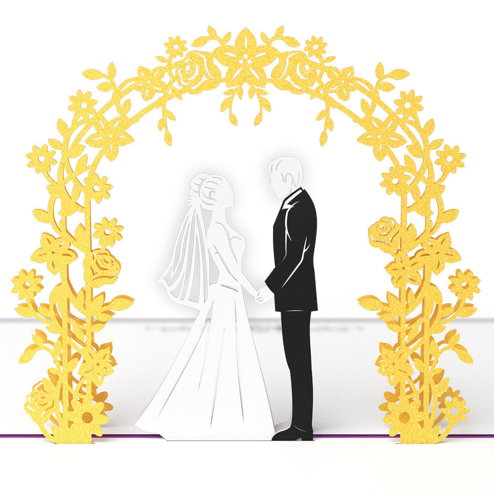 Wedding Graphics: Wedding Day 3D Pop Up Card
