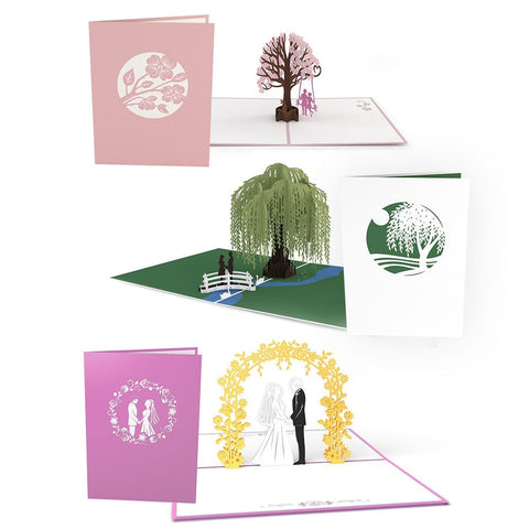 Wedding Season Pop Up Card Pack greeting card -  Lovepop