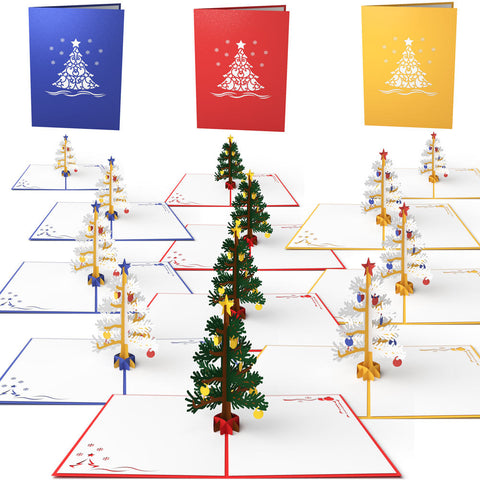 12 Pack Holiday Pop Up Cards greeting card -  Lovepop