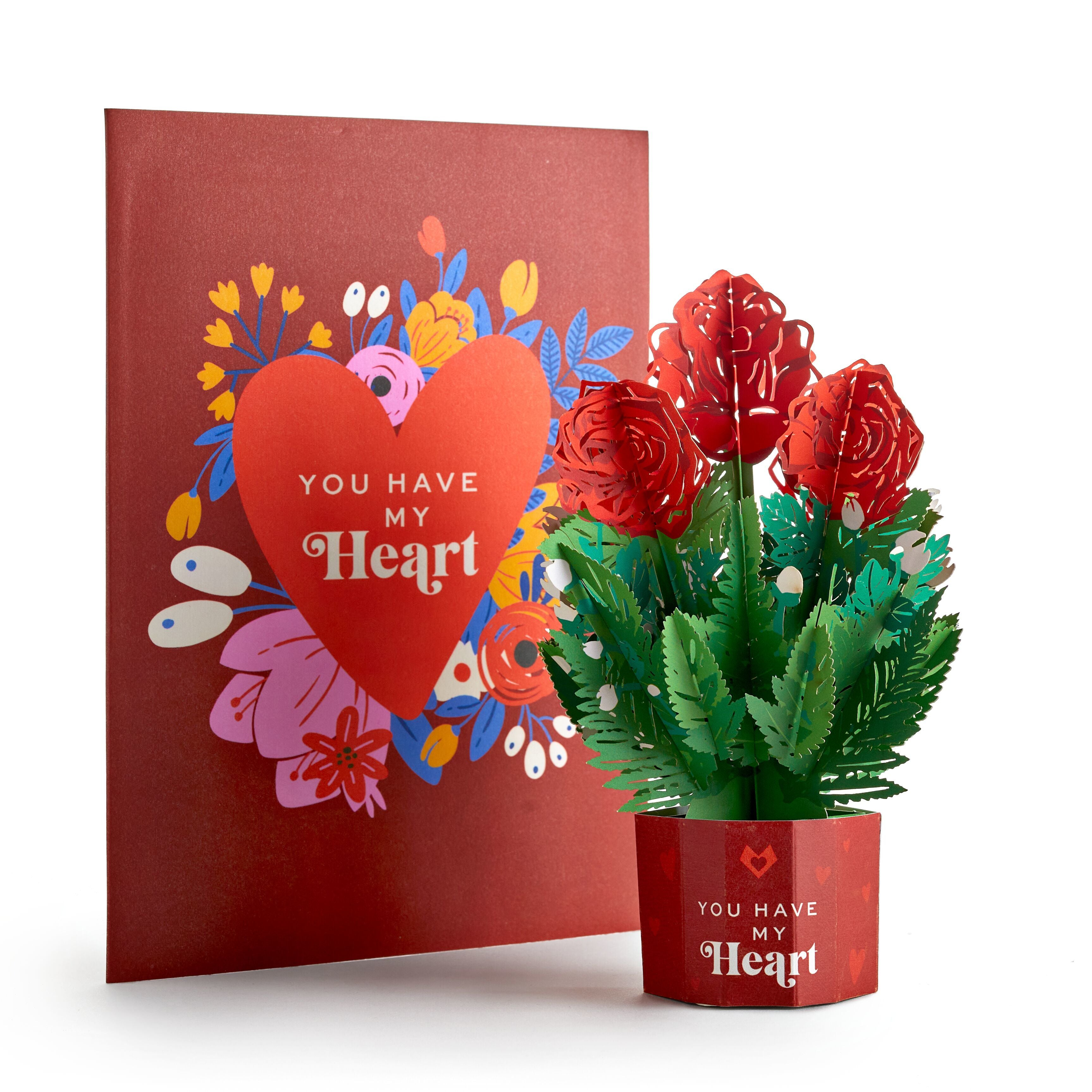 You Have My Heart Card with Mini Bouquet