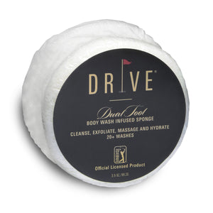 CAREN DRIVE Dual Tool Body Wash Infused Soap Sponge