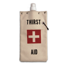 Load image into Gallery viewer, tote+able Canvas Canteen - Thirst Aid