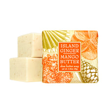 Load image into Gallery viewer, Greenwich Bay Shea Butter Soap - Island Ginger Mango Butter