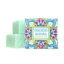 Load image into Gallery viewer, Greenwich Bay Shea Butter Soap - Orchid Jojoba