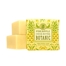 Load image into Gallery viewer, Greenwich Bay Shea Butter Soap - Pineapple Cocoa Butter Botanic