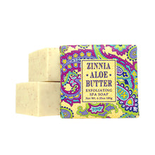 Load image into Gallery viewer, Greenwich Bay Shea Butter Soap - Zinnia Aloe Butter